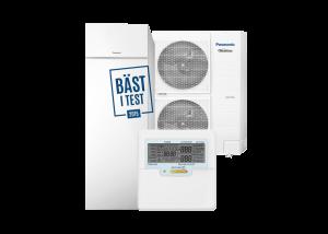 Luft/vatten värmepump Panasonic