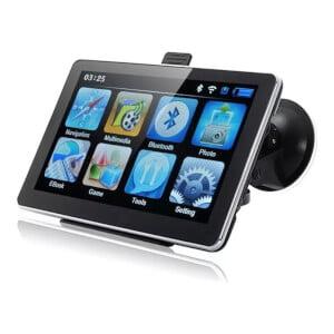 PS GPS navigator med skärm och FM-sändare
