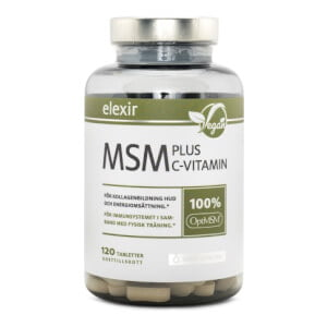 Elexir Pharma MSM + C-vitamin